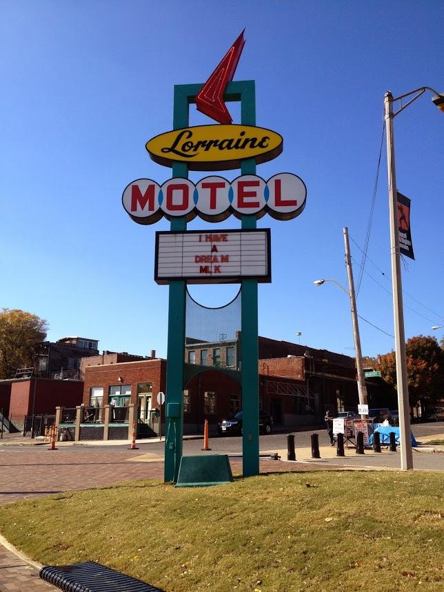 Civil Rights Museum Memphis road trip through the south