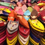Colorful shoes from Morocco