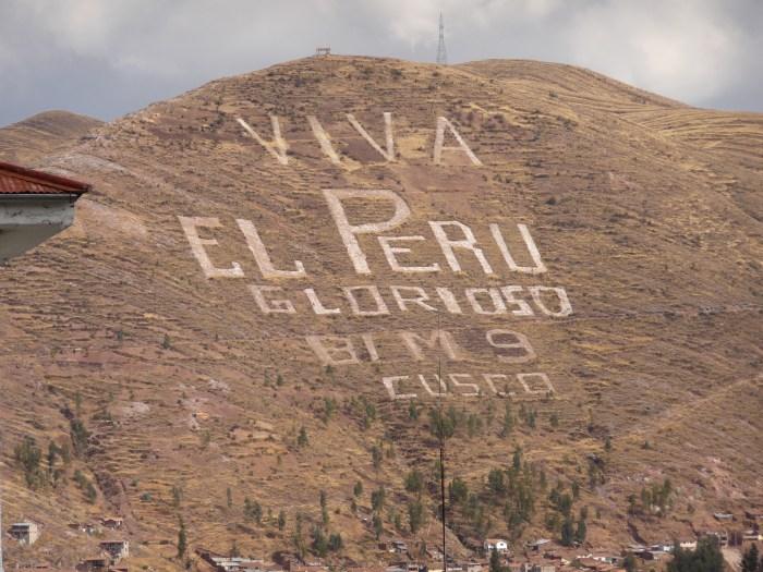 Mountain above Cusco.
