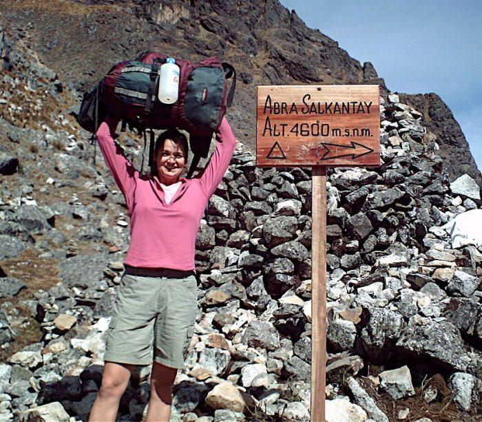 salkantay trail in Peru backpack travel vacation hiking