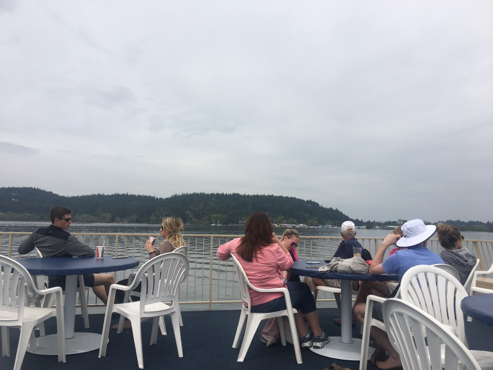 Cruising around Lake Coeur d'Alene, Idaho