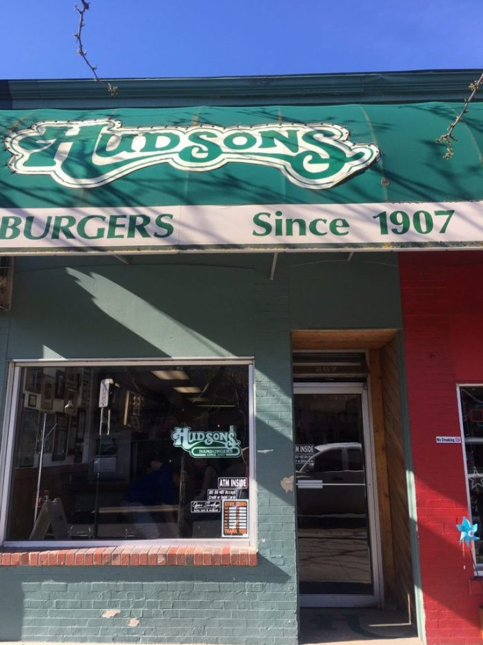 Hudsons hamburgers when you are killing time in Coeur d'Alene, Idaho