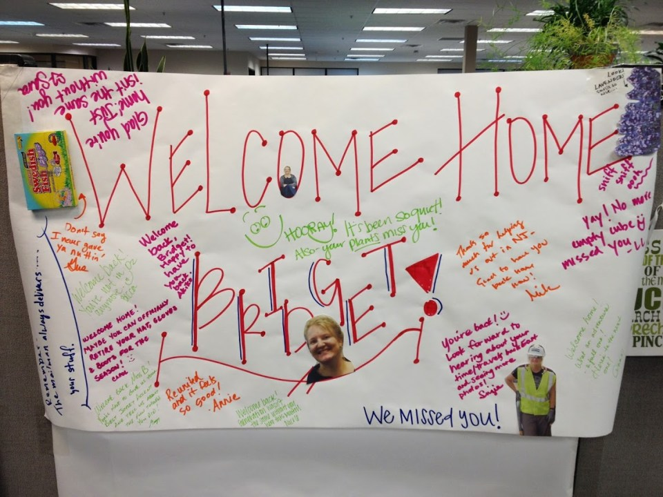 Welcome home work poster, work-life balance, work friends