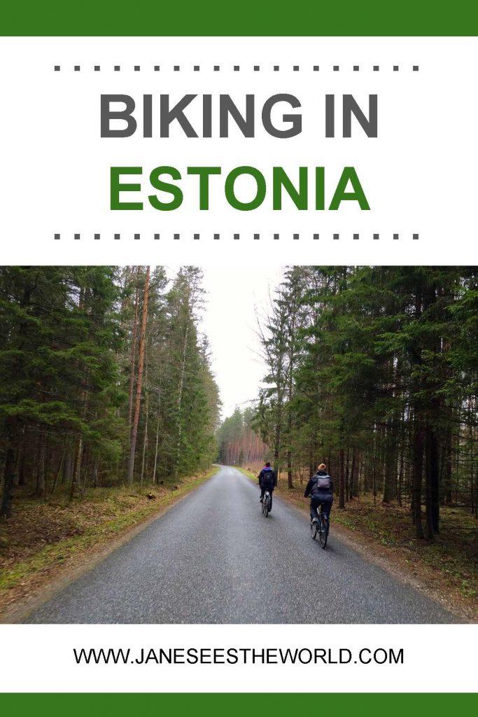 biking Estonia travel bicycle