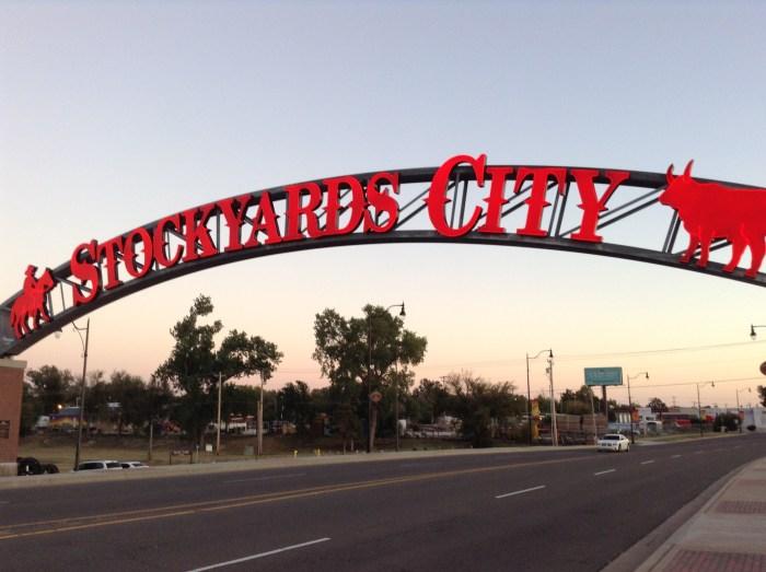 Oklahoma City Stockyards City Sign