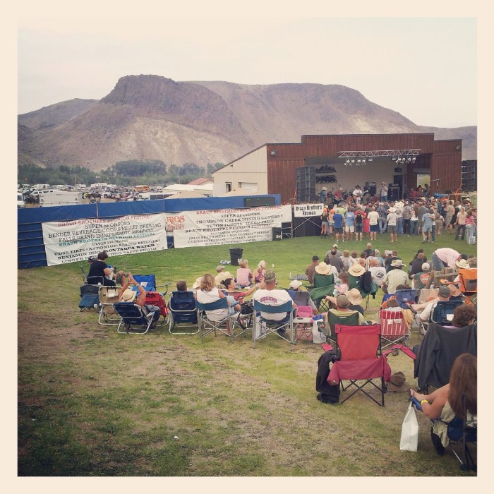 Braun Brothers Reunion in Challis, Idaho summer music festival preparation