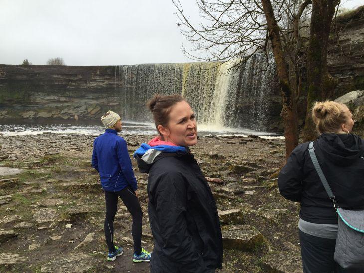 Estonian waterfall