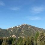 Bald Mountain in the spring.