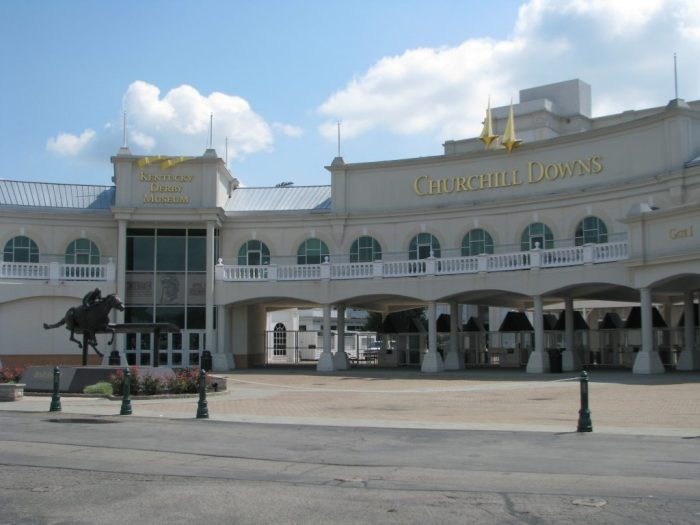 Churchill Downs all 50 states club part 1 USA travel
