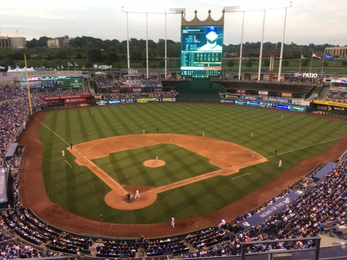Royals stadium in Kansas City