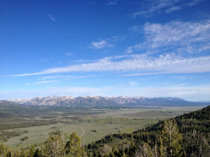 Sawtooth Mountains, ideas for a girls' weekend including camping in Idaho