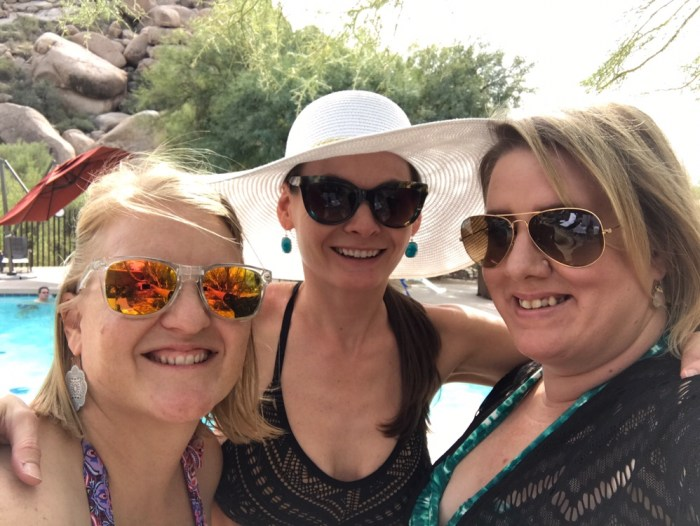 girls' weekend, spa, arizona, resolutions, friends