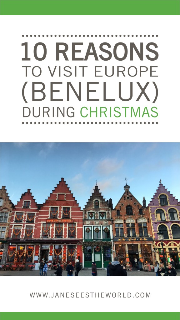 Bruges Christmas Europe Benelux