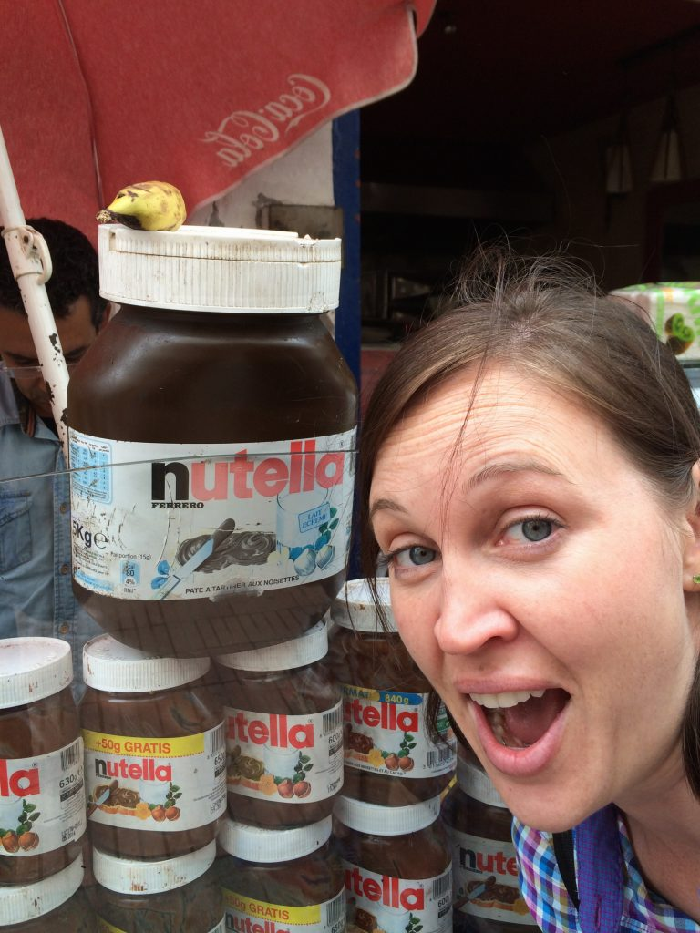 Giant Nutella Jar