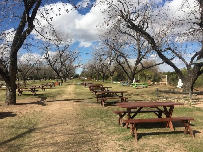 Picnic The Farm at South Mountain Arizona