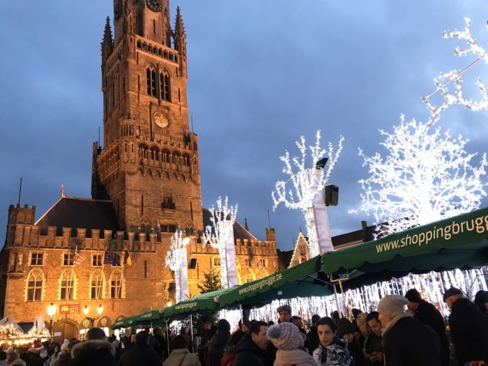European Christmas Bruges Christmas Market
