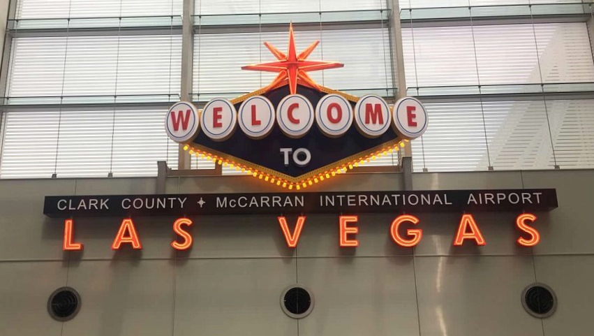 Spa day, Las Vegas, Nevada, airport