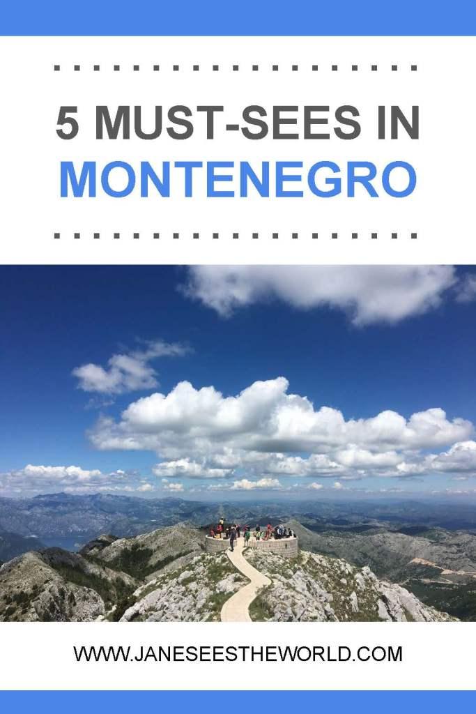 5 Montenegro must-sees