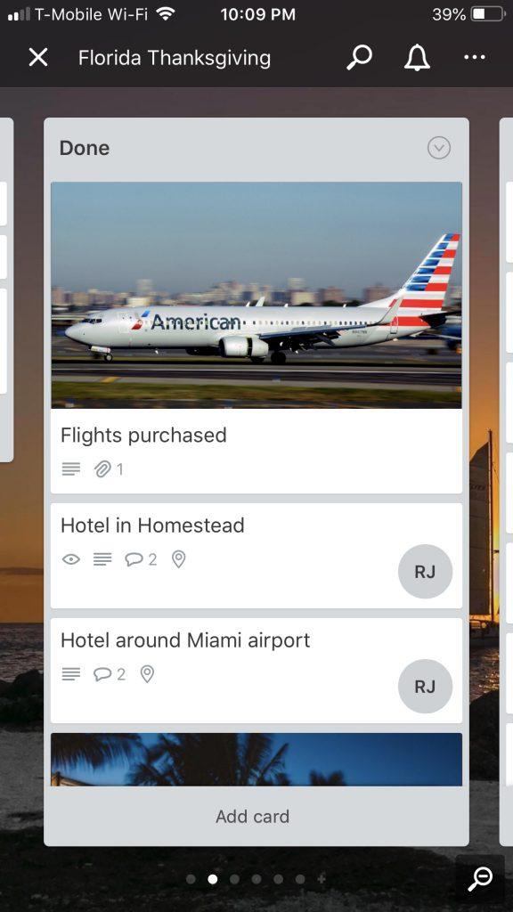 Trello Mobile App