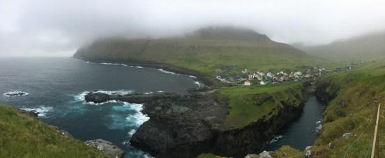 decribe the Faroe Islands Gjógv