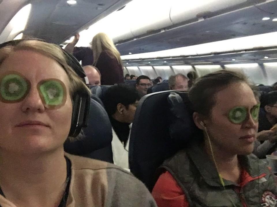 red-eye flight eye mask evolving as a traveler