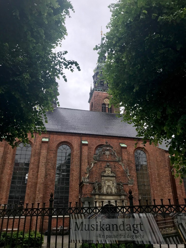 Church of the Holy Ghost in Copenhagen, Denmark, is lovely.