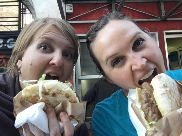 debit, credit or cash travel Serbia hamburgers