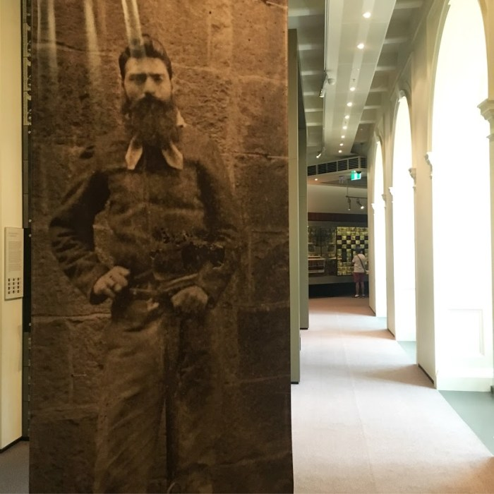 Ned Kelly State Library Victoria