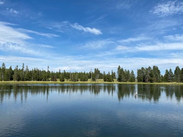 Lake reflection at Harriman.