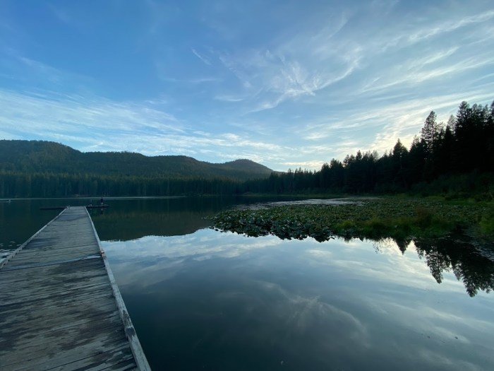 Dock at Round Lake State Park