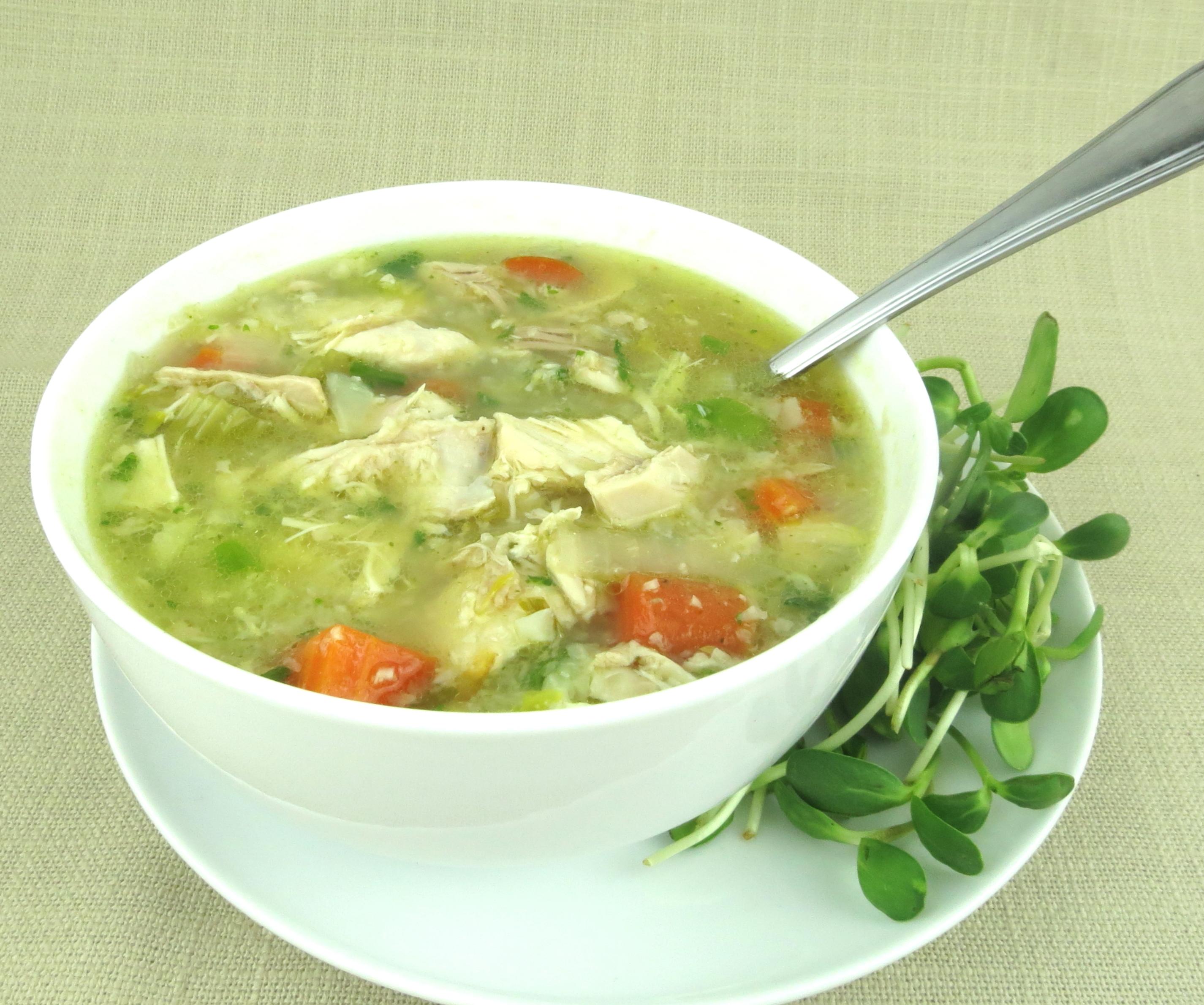 Paleo Chicken Rice Soup Jane S Healthy Kitchen