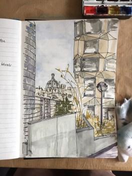 A view along London Wall.