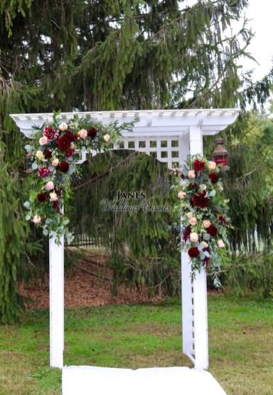 Janes Flower Shoppe Weddings Events012