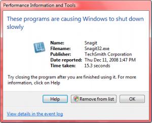 snagit-slow-shutdown