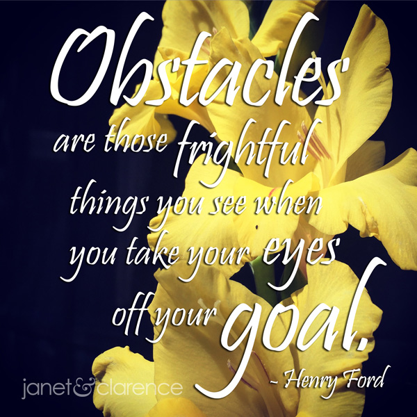 Motivational Meme About Obstacles