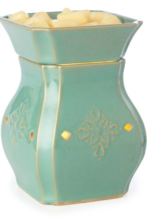 Vintage Turquoise Electric Wax Warmer