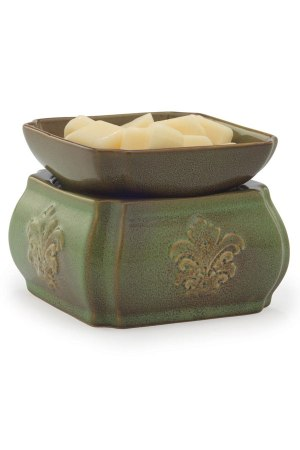 Spring Damask 2-in-1 Electric Wax Warmer