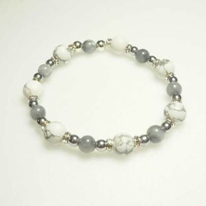 White Stacker Bracelet