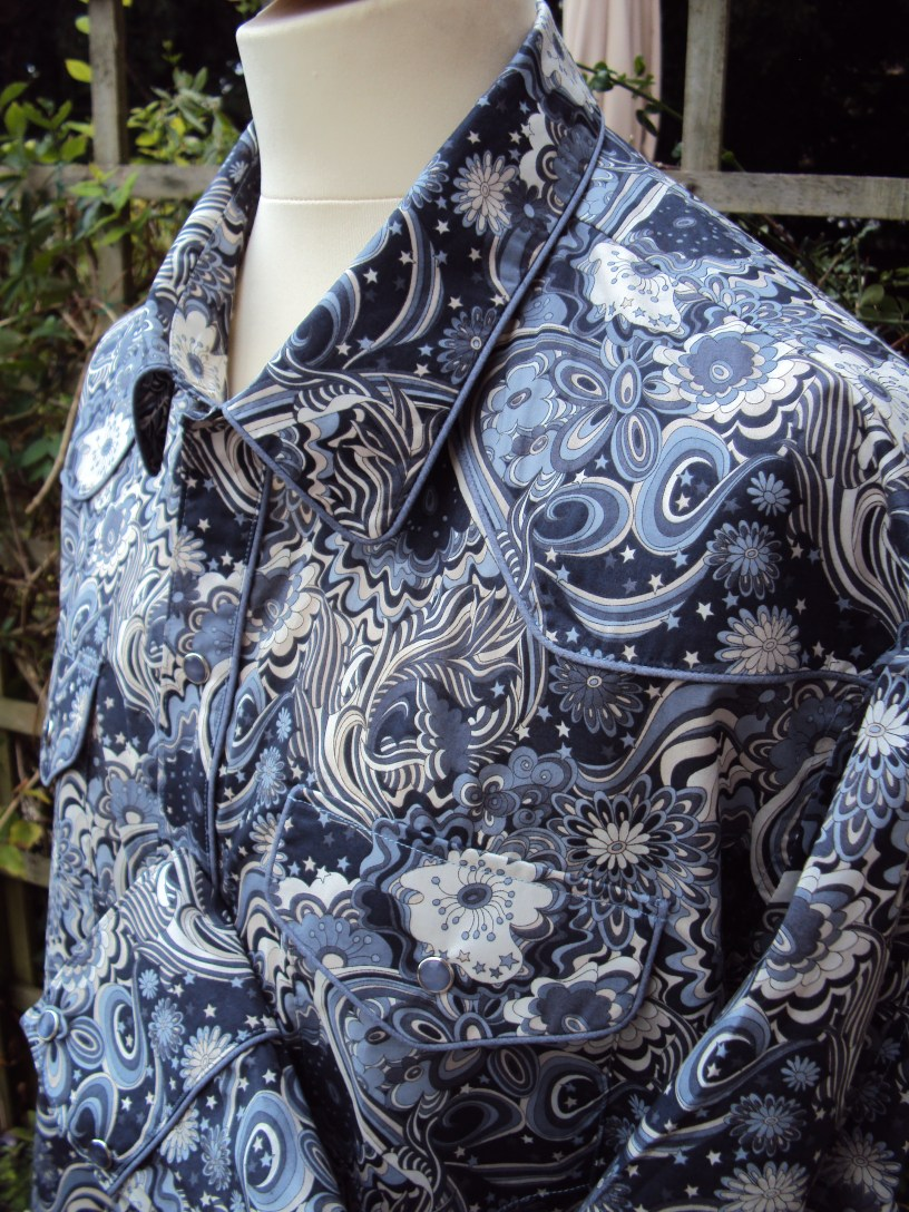 Shirt made for David Liston in Liberty 'Amelia Star' https://dandyandrose.com/2013/08/11/a-touch-of-the-psychedelic/