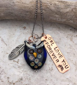 Owl Love Necklace