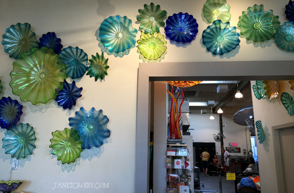 Seattle Glassblowing Studio and hot shop