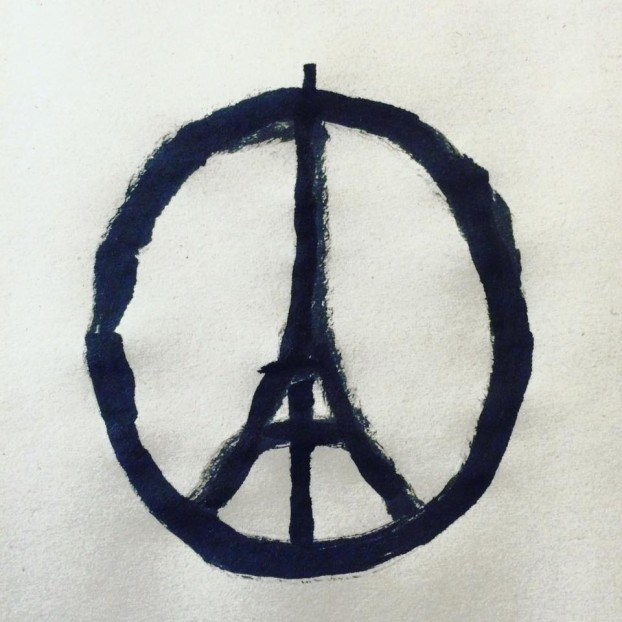 Peace For Paris - image by Jean Jullien