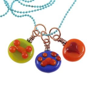 Dog Lover Charm Necklace by Janet Crosby