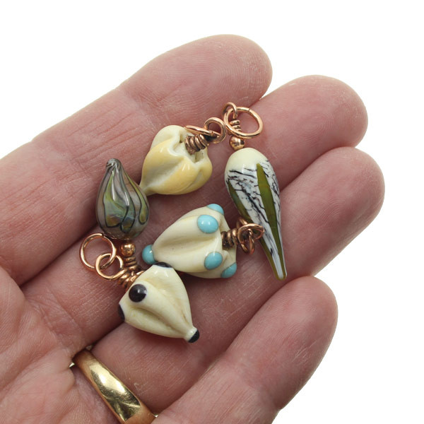Organic Charms by Janet Crosby