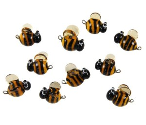 Bee Magnets by Janet Crosby