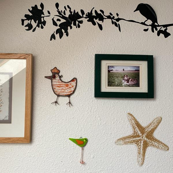 Fresh Squeezed - Mini Bird by Janet Crosby