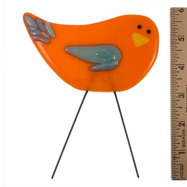 GardenBird - Ice Wing by Janet Crosby
