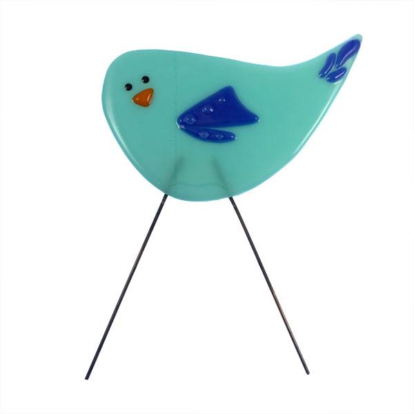 Garden Bird - Jewel by Janet Crosby
