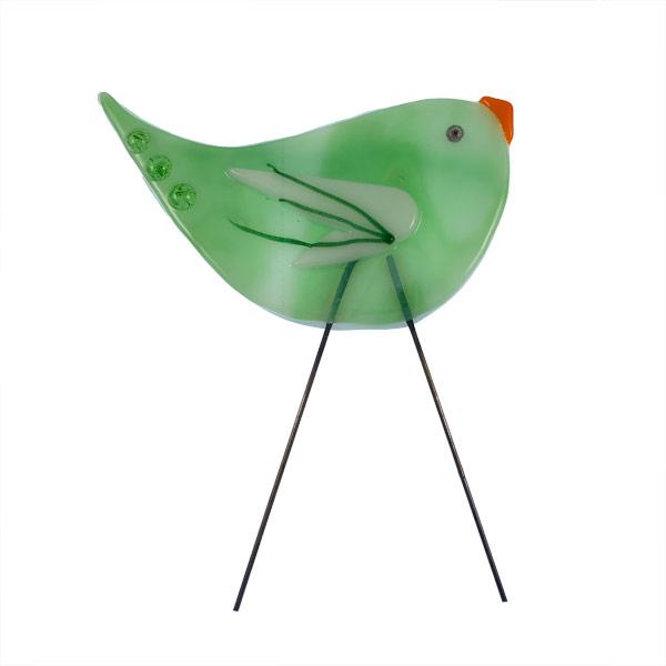 Garden Bird - Sizzle Wing by Janet Crosby