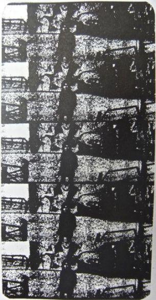 Test plate print for Foggy funfair II.